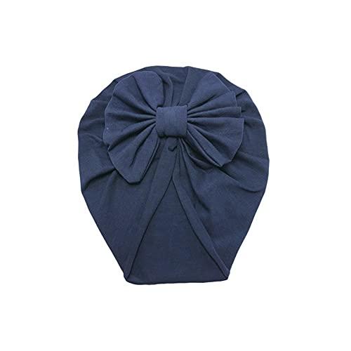 QFDM Women's Hair Accessories 2 unids Diadema Hat Bowknot Imprimir algodón elástico Turbante Turbante Cabeza de Cabeza Hairpin (Color : 35)