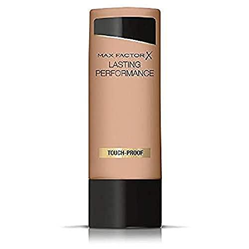 Max Factor Lasting Performance Touch Proof Base de Maquillaje Líquida, Tono 108 Honey Beige, 35 ml
