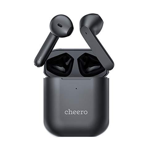 ワイヤレスイヤホン cheero Wireless Earphones Light Style 2 Qualcomm® aptX 3040 Bluetooth 5.2 自動ペアリング 高音質 防水 IPX5 完全ワイヤレス マイク付 ハンズフリー iPhone Android 対応 CHE-632