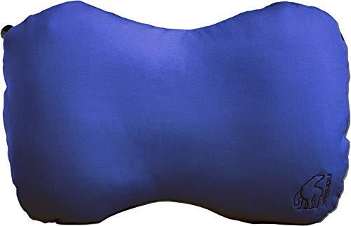 Nordisk Aften aufblasbares Schaumstoffkissen Kissen, Limoges Blue/Black