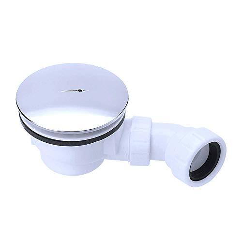 Design Ablaufgarnitur AL02 für Duschtasse mit Ablaufloch von Durchmesser 90mm Geruchsverschluss Abfluss ca 50mm