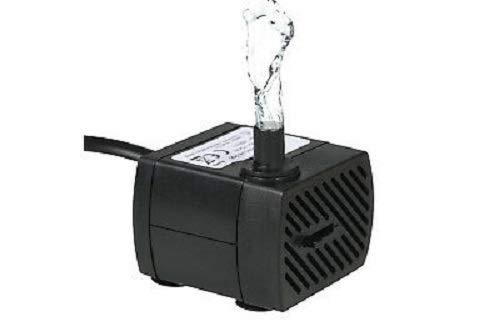 Euronatale Pompa sommersa motorino sommergibile per Acquario presepe Fontana 150L / H 2,5W