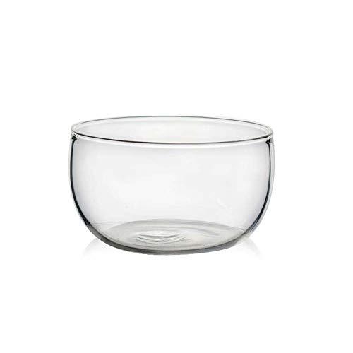 Bol à Salade En Verre/Bol De Service/Bol De Ravitaillement, Bol à Fruits à Bol à Soupe, Transparent Transparent Résistant à La Chaleur De 10,3 Cm / 350 Ml (2 Pièces)
