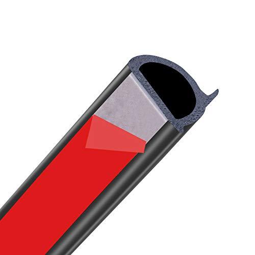 RelaxToday Autotürdichtung Gummitür Dichtungsstreifen DZ-Form Autotürrahmen Motorhaube Kofferraumabdeckung Verkleidungsdichtungen Gummi