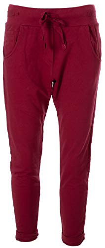 Basic.de Jogging Pant Bordeaux Uni XL