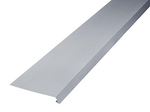 INEFA Dachstreifen, 200 cm, einseitig gekantet, Kunststoff, Regenrinne, Dachrinne