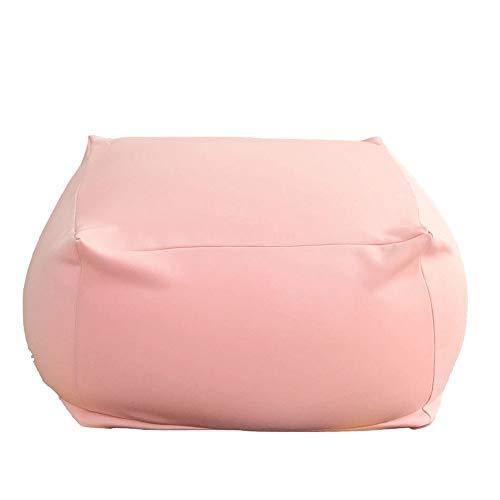 BESTSOON Sofá Silla Ultra Soft Bean Bags Sillas Fo RKids y Adultos Grande for Cualquier Sitio Disponible Opcionales Salón Dormitorio Estudio Balcón Sillón (Color : Gray, Size : 65x65x45cm)