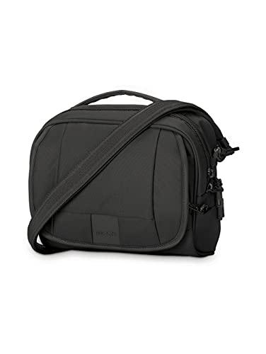 PacSafe Metrosafe LS140 Anti-Theft Sac bandoulière, 24 cm, 5 L, Black 100