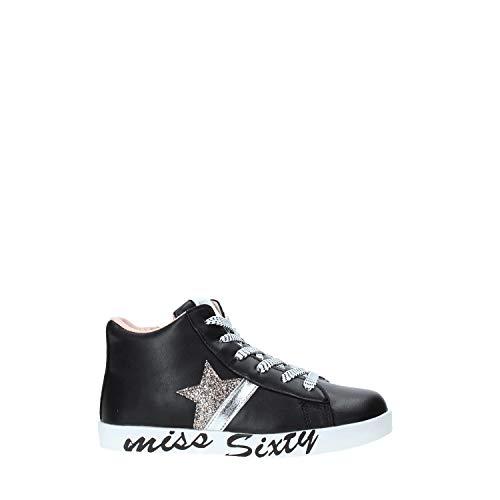 Miss sixty W19-SMS649 Zapatos Niño Negro 34