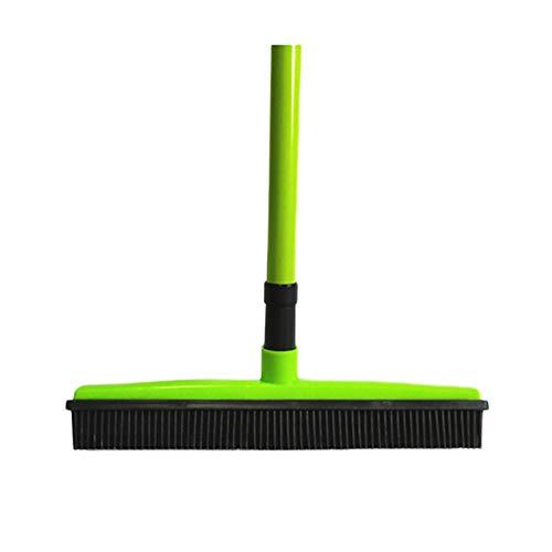 KBLK Yard Bürstengummibesen, Plüsch Räumgeräte, Ginster Einziehbare Borsten Reinigung, Reinigungswerkzeug