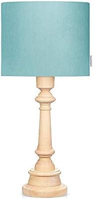 LAMPS & COMPANY 5901122223177 Lampe sur pied, PVC, Coton, Bois, Menthe