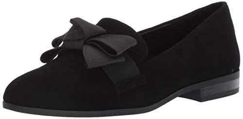 Bandolino Footwear Women's Lomb Loafer Flat, Black, 7.5