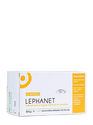 LEPHANET Toallitas para los Ojos