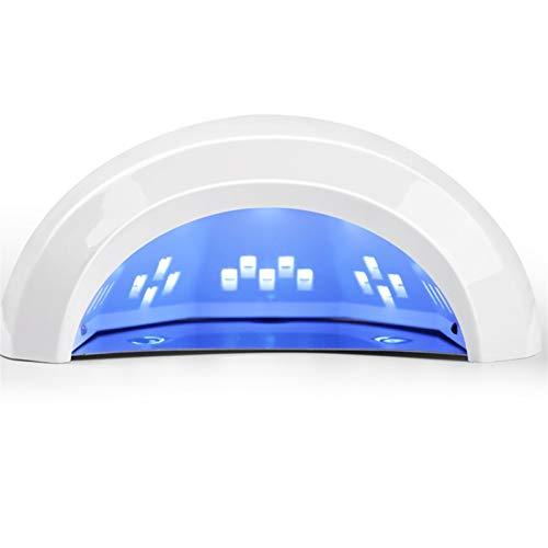 JIU SI Lámpara de uñas-48W Máquina de fototerapia de uñas Inducción Secado rápido Fototerapia Fototerapia Lámpara Nail Shop Especial Pilamento Pegamento para Hornear Lámpara Lámpara LED