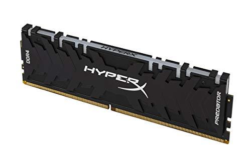 HyperX Predator RGB - 64 GB 3000 MHz DDR4 CL15 DIMM (Kit of 4) XMP - Black