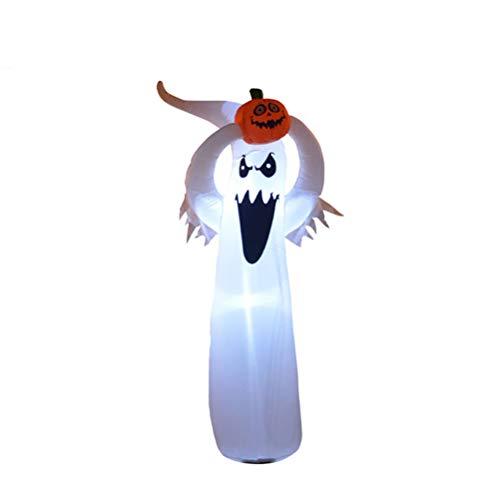 Luces inflables del fantasma de Halloween con las decoraciones del partido del día de fiesta de la calabaza al aire libre interior explota la decoración del