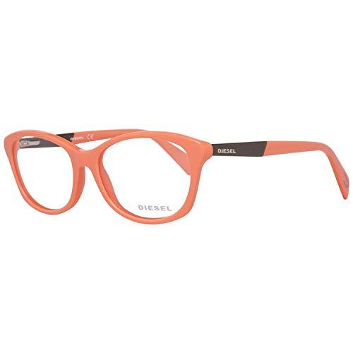 Diesel Brillengestelle DL5088 53072 Rechteckig Brillengestelle 53, Orange