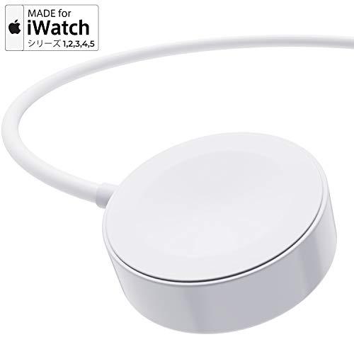 【改良版】Apple Watch 充電ケーブル Apple Watch充電 Series 1/ 2/3/4/5 に対応 磁気充電タイプ