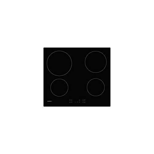 Rosieres rocth64ct/1 Table vitrocéramique - 4 Zones - 6500w - l 59 x p 25 cm - Noir