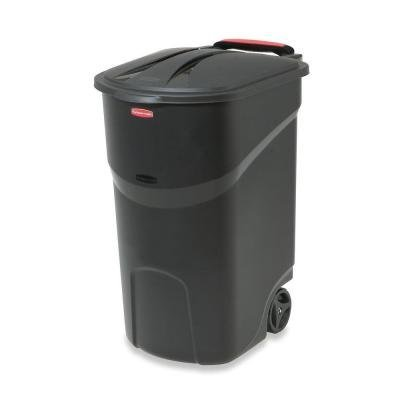 Home & Comforts Wheeled Trash Garbage Container