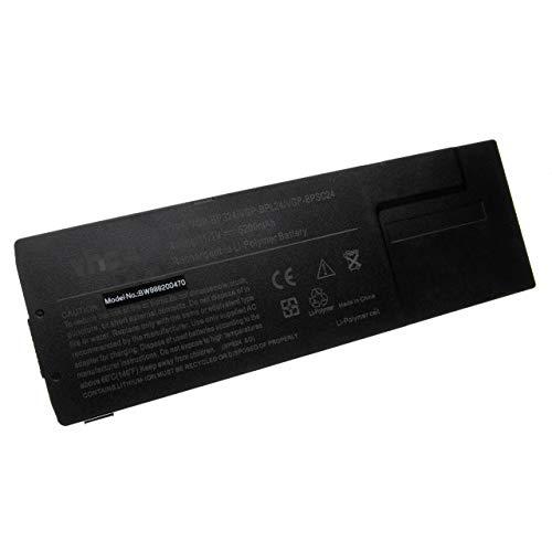 vhbw Akku passend für Sony Vaio VPC-SE2C5E, VPC-SE2E1E, VPC-SE2J9E, VPC-SE2L9E, VPC-SE2M9E Notebook (5200mAh, 11.1V, Li-Polymer, schwarz)