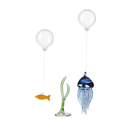 Leonardo 17256 3-teilig Set Fische/Qualle/Seegras klein Mare