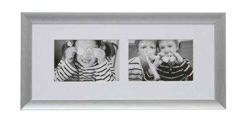 Deknudt Frames S021M1 17 x 40 Cornice Grigio Argento Metallo
