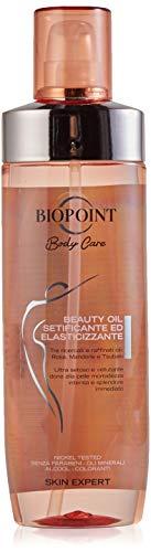 Biopoint Beauty Oil Setificante ed Elasticizzante, migliora l'Aspetto e il Tono della Pelle - 250 ml