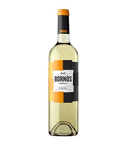 Caja 6 Botellas de Vino Blanco Palacio de Bornos Verdejo Denominación Origen Rueda 2019