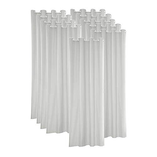MagiDeal 10 Pcs Indoor Outdoor Curtains Waterproof Blackout Curtains for Patio 54x96