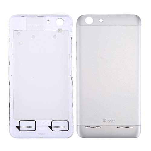 Dmtrab For Lenovo Vibe K5 / A6020 Battery Back Cover(Grey) Repair Parts Back Cover (Color : Silver)