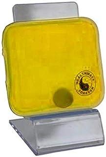 HealthmateForever Terapia caliente o fría de la comodidad del doble Pack - amarillo en forma de cuadrado
