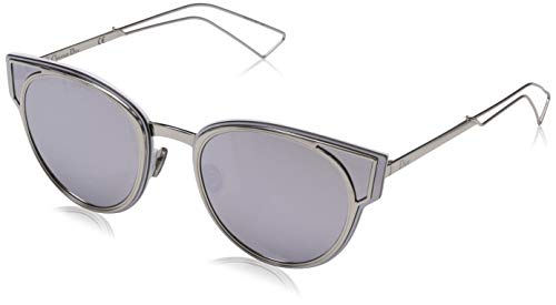 Dior DIORSCULPT DC 010 Gafas de sol, Plateado (Palladium/Extra White Marl), 63 para Mujer