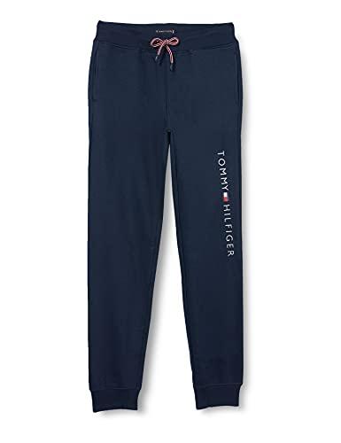 Calvin Klein Essential Sweatpants Set 1 Pantaloni, Blu (Black Iris 002), 140 (Taglia Produttore: 10) Bambino