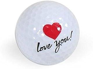 Golf Balls,  Nitro Novelty I Love You,  3 Pack