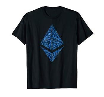 Mens Ethereum BlockChain Revolution Crypto ETH Word Shirt