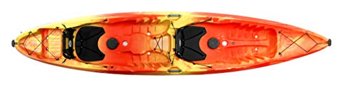 powerful Perception Kayaks Perception Tribe 13.5 Have fun with tandem kayaking. Big rear …