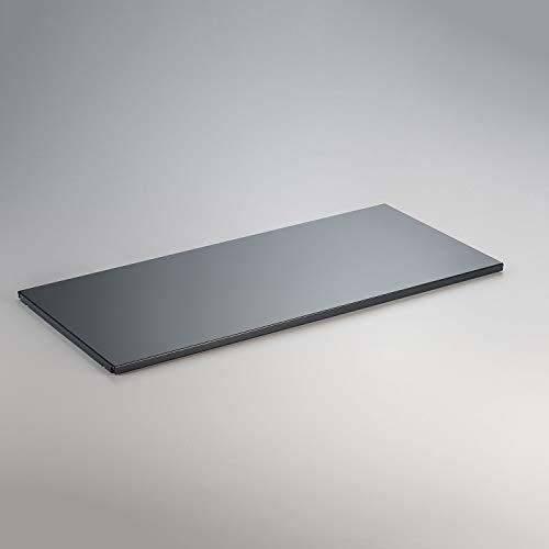 Swissmobilia Zwischentablar für USM Haller RAL 97016 Anthrazitgrau, Metallelement, Diverse Maße, Systemmaß:750x350