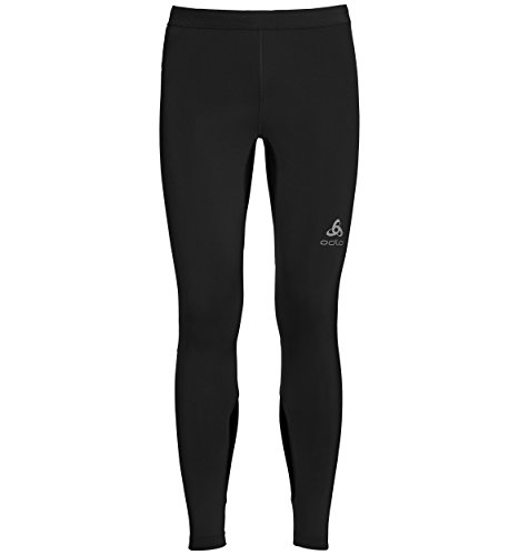 Odlo Collant Running Homme OMNIUS Course, Black, FR (Taille Fabricant : XL)