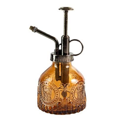 Botella de cristal Mister Spray de 200 ml vintage planta spray riego puede planta señor vidrio riego jardín herramienta spray botella
