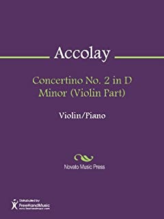 Concertino No. 2 in D Minor (Violin Part) (English Edition)