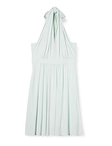 Amazon-Marke: TRUTH & Fable Damen Hochzeitskleid Multiway Midi, Grün (Celadon Green), 38, Label:M