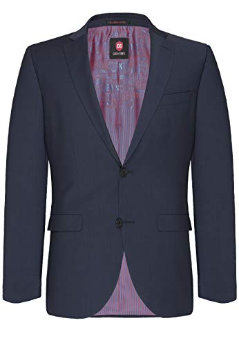 Club of Gents Herren Tailored Fit Anzug Andy SS 20 - 023S0, Blau (Blau 62), Gr. 27