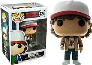 Funko POP Television Stranger Things Dustin with Brown Jacket Toy Figure Exclusive