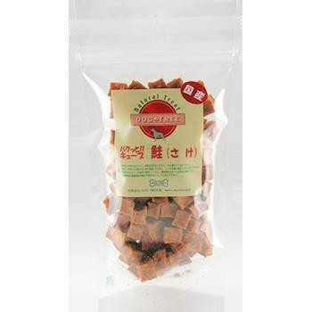 ドッグツリー 犬用おやつ 自然素材 国産&無添加・無着色 パクっとキューブ 鮭(さけ) 約80g 鮭