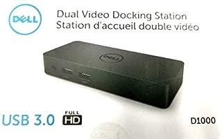 New Genuine Dell D1000 Dual Video 3.0 USB Docking Station 9X2C4 09X2C4 (Renewed)