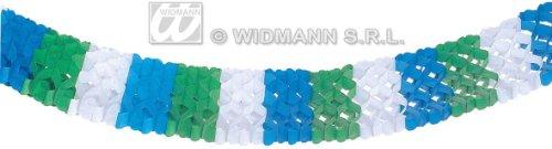 Widmann Tricolour Paper Garlands 18Cm 4M