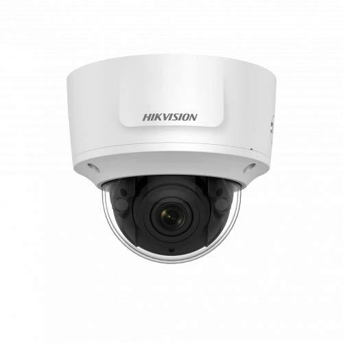 Hikvision Digital Technology DS-2CD2783G0-IZS IP-beveiligingscamera, binnen en buiten, koepel kamerdeken, 3840 x 2160 pixels, beveiligingscamera's (IP-beveiligingscamera, binnen en buiten, kabel, koppeling, wit, kamerplafond