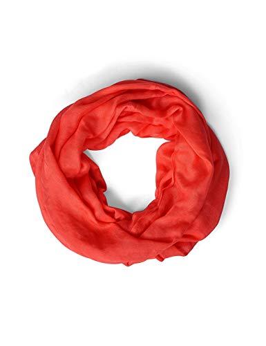 Street One Damen 570951 Loop Schal, Rot (bright coral 11889), One Size (Herstellergröße:A)