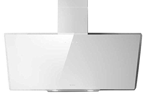 Elica Shire WH/A/60Flat Weiß B Dunstabzugshaube, Abluft, 60dB, 55cm, 70cm, Wanduhr, Weiß)